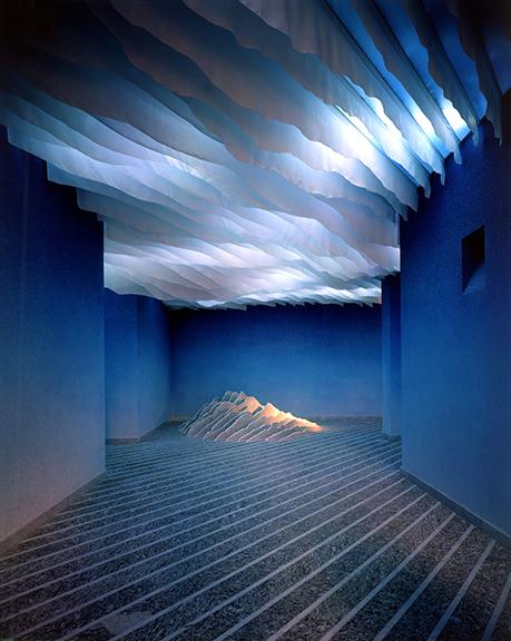 """Emilio Ambasz, """"Residence au Lac,"""" Lugano, Switzerland, 1983. Courtesy Estudio Ambasz."""