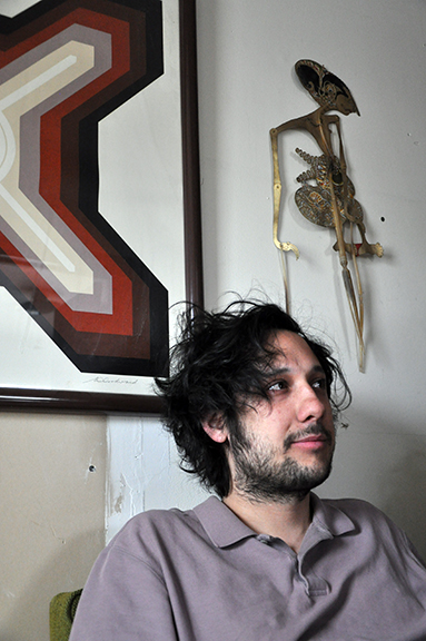 Jake Acosta, musician, Chicago, 2017 by Chester Alamo-Costello