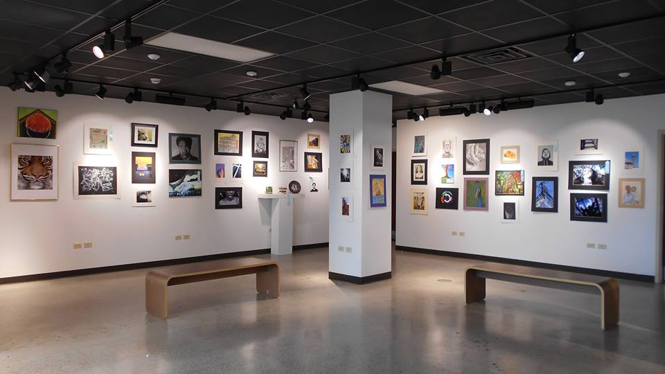 Regional High School exhibition, University of St. Francis, Joliet, Illinois, 2016