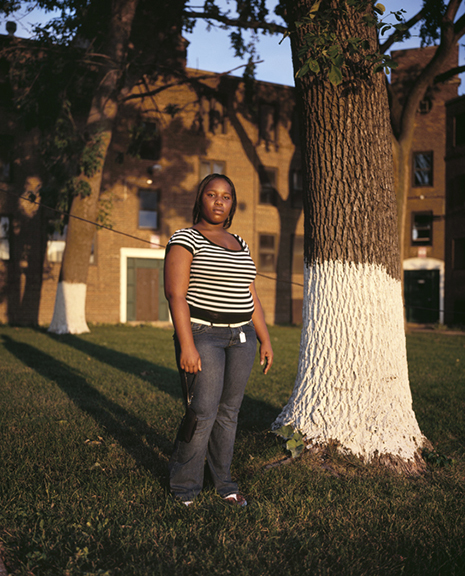 Jason Reblando, Krystal, Lathrop Homes, Chicago, 2007.
