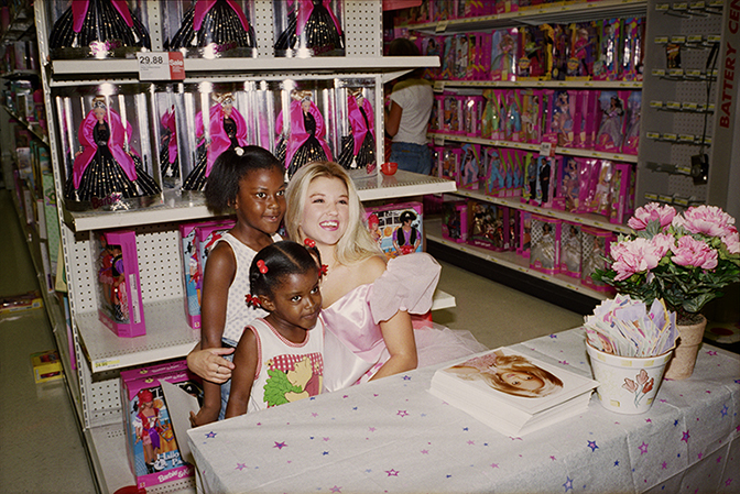 Melissa Ann Pinney, The Real, Live Barbie at Target, 1998