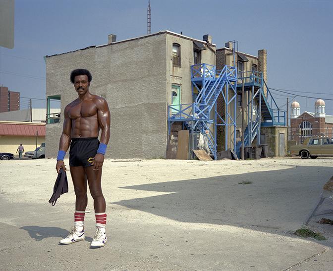 Jay Wolke Shirtless Man, Atlantic City, 1989
