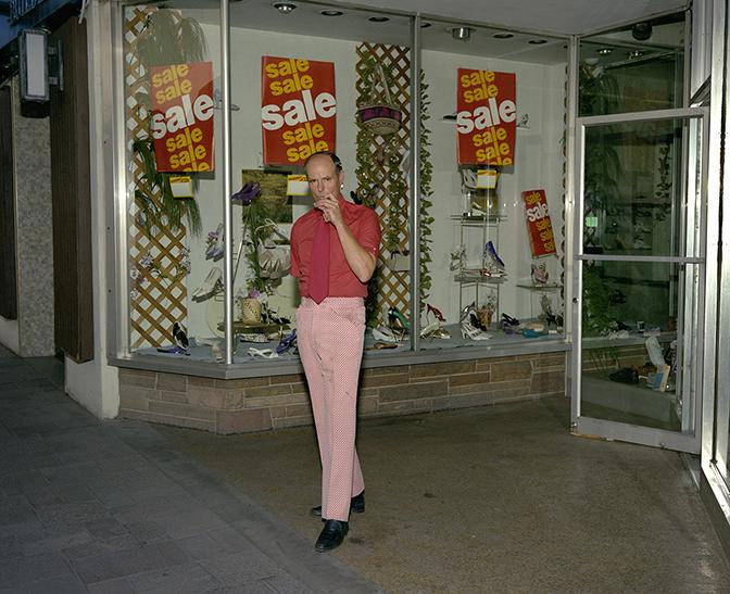 Jay Wolke, Shoe Salesman, Reno, 1991