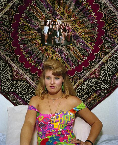 Jay Wolke, Woman, Mustang Ranch, Reno,1991
